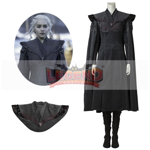 Game of Thrones 7 Daenerys Targaryen Costume Adult Women Dragon of Mother Halloween Cosplay